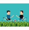 soccer football related icons image vector image