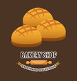 bakery shop vector image vector image
