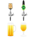 beer equipment 04 vector image vector image