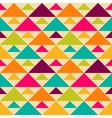 Bright retro seamless pattern vector image vector image