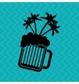 delicious beer design vector image