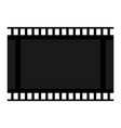 frame film blank cadre icon celluloid sign of vector image vector image