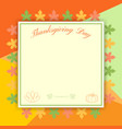 happy thanksgiving day celebration background and vector image