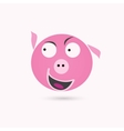 pig vector image vector image