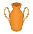 Ancient vase icon cartoon style vector image vector image