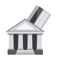 banking design vector image vector image