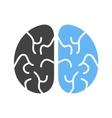Brain Head vector image vector image