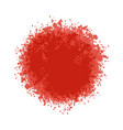 particles grain or sand assembled in a circle live vector image