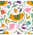 seamless pattern colorful with vector image