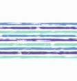 Creative watercolor brush stripes seamless pattern
