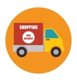 eCommerce and shopping vector image vector image