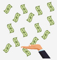 money savings and investment vector image