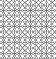 monochrome seamless pattern with circles vector image vector image