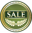 sale gold icon vector image vector image