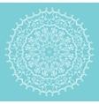 snowflake mandala vector image vector image