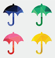 umbrella icon Abstract Triangle vector image vector image