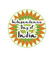 festive of independence day of india vector image
