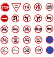 regulatory sign vector image