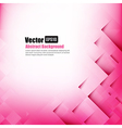 Abstract background light pink with basic geometry vector image vector image