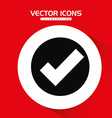 check icon design vector image