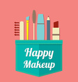 Happy Beauty vector image