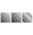 set wave oblique smooth lines pattern vector image