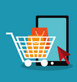 shopping and sale design vector image vector image
