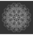 Mandala Flower Round Oriental Ornament Design vector image