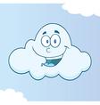 Cartoon weather symbol vector image vector image