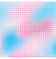 creative halftone pattern design vector image vector image