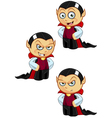 Dracula Hands On Hips vector image