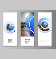 editable layout vector image vector image