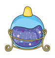magic potion bottle icon vector image