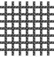 net of rope in black design vector image vector image