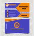 premium business card design background vector image vector image