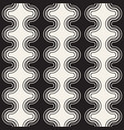 seamless wavy lines pattern repeating vector image
