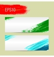Template for card background Acrylic brush vector image vector image