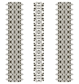 tribal seamless pattern vertical vector image vector image