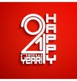 New Year 2014 background Eps10 vector image
