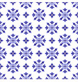 beautiful ceramic tile pattern vector image