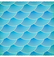 Blue fish scales seamless pattern vector image vector image