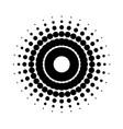 creative circle figure vector image vector image