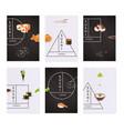 japanese sushi banner set vector image vector image