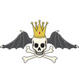 king of death vector image vector image