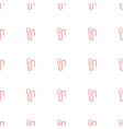 microphone icon pattern seamless white background vector image vector image