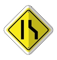 traffic signal information icon vector image vector image