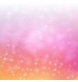 festive bokeh background with blurred defocused vector image