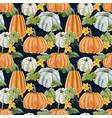 beautiful autumn seamless pattern vector image