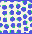 blueberry seamless pattern blueberries vector image