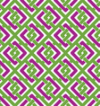 Colorful geometric seamless pattern symmetric vector image vector image